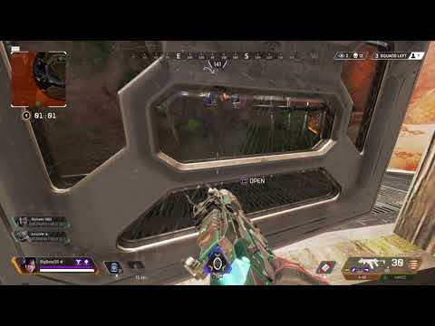Half of the game becames 1 vs 3 - (17 KILLS) - Apex Legends