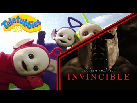 teletubbies intro two steps from hell to glory