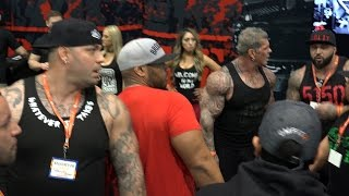 Rich Piana Minutes AFTER Mac Trucc Attack - LA Fit Expo