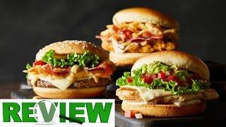 Three New Mcdonald's Signature Burgers Review. - Video Youtube