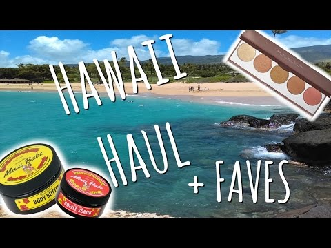 Video HAWAII HAUL | Vacay Faves + Souvenirs