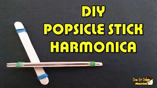 DIY Popsicle Stick Harmonica