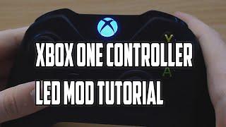 Xbox One Controller Custom LED Light Tutorial