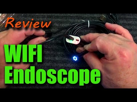 Gadget Review – WIFI Waterproof Endoscope Inspection Camera