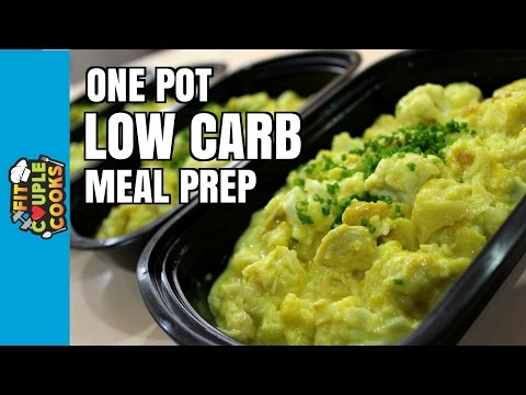 How to Meal Prep - Ep. 42 - LOW CARB CHICKEN MAC 'N CHEESE ($3.50/Meal)