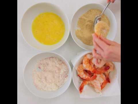 Recipe! Lightly Breaded Shrimp from FreshSeafood.com