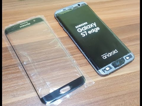 🔧Galaxy S7 Edge Glass Only Replacement - FULL GUIDE (success)💪