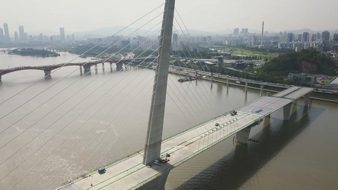 월드컵대교 수주 (영창중공업) World Cup daegyo(Way Bridge) in Seoul, Kore…