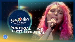 Cláudia Pascoal - O Jardim - LIVE - Portugal - First Semi-Final - Eurovision 2018