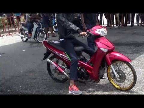 4T 125cc Std Body Drag Racing Kubang Menerong Apr 2018