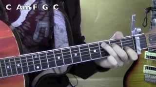 Dear Future Husband ★ Guitar Lesson ★ Standard Chord Version ★ Meghan Trainor