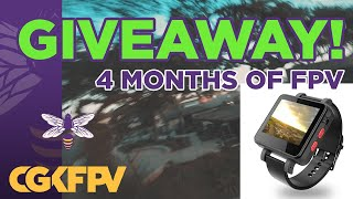 Celebrating 4 months of flying FPV - Topsky FPV Watch Giveaway!