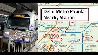 Delhi Top 10 Tourist Location Nearby Metro Station Name | Delhi Metro Guide | Delhi tourist places
