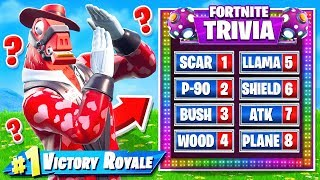 TRIVIA BATTLE in Fortnite!