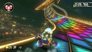 N64 Rainbow Road - 1:17.098 - ☆ぷりん☆ (Mario Kart 8 World Record)