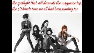 4Minute - Highlight (+english lyrics)