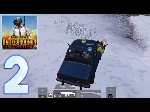 PUBG Mobile - Gameplay Walkthrough Part 2 (iOS, Android) Epic Squad Battle