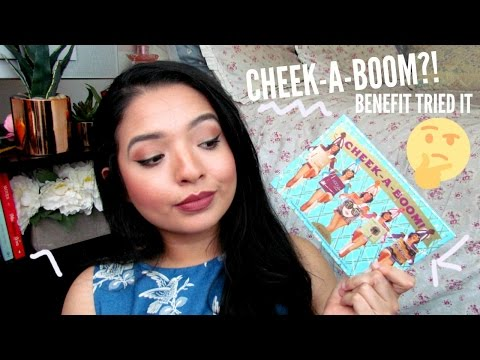 (WTH BENEFIT???) BENEFIT CHEEK PARADE PALETTE | Swatches & Thoughts ♡ Cherie Jo