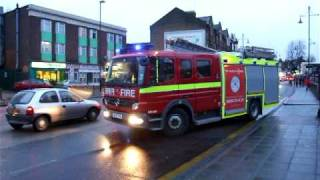 preview picture of video 'London Fire Brigade - G241 Southall'