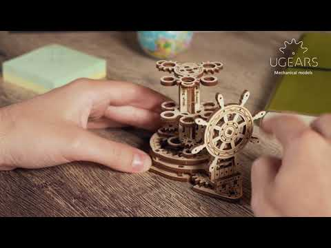 UGears Wheel Organiser Pen Holder Video