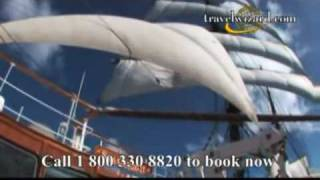 Sea Cloud Caribbean Sailing Video: Sailing Video