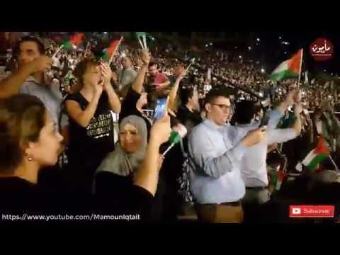 اغنية نادي الوحدات من قلب فلسطين في مدينة روابي