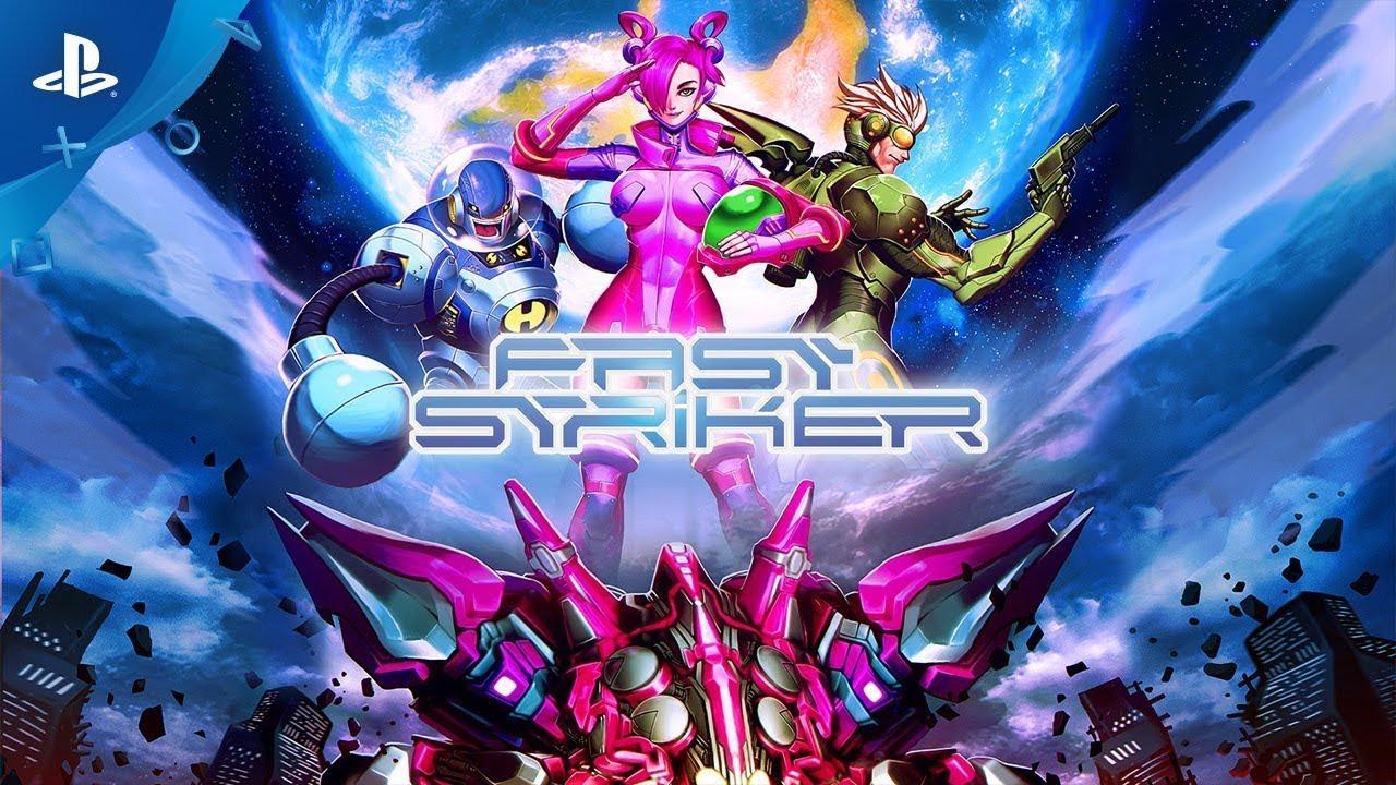 2D Arcade Shmup Fast Striker Hits PS4, PS Vita October 16
