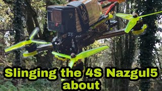 NAZGUL5 4S, Ethex Cinematic Props, Gopro Hero 7 Hypersmooth Just chilling FPV freestyle flight
