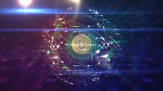 Bitcoin Background Video   Digital futuristic background   Royalty Free Footages   #Cryptocurrency