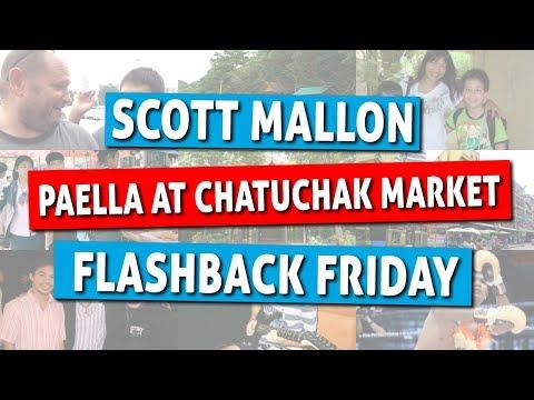 Flashback Friday - Tasty Paella at Chatuchak Market!