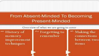 How To Stop Being Absent minded And Become A Present minded Person No More Forgetfulness