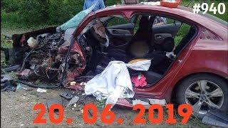 Смотреть онлайн Подборка: аварии и ДТП за июнь