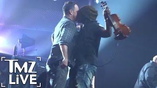 Dave Matthews Band: Man-On-Man Makeout | TMZ Live