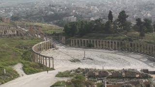 preview picture of video 'Roman city of Gerasa at Jerash - Jordan'
