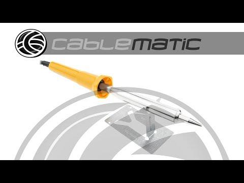 Soldador eléctrico de estaño de 100W - distribuido por CABLEMATIC ®