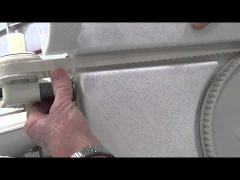 Removal/Installation of Drive Unit - Thumb Screw, Tension of Belt (Part 3 of 4)