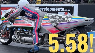 ROCKET POWERED MOTORCYCLE BREAKS WORLD RECORD!