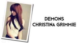 Christina Grimmie - Demons [Cover] (with LYRICS)