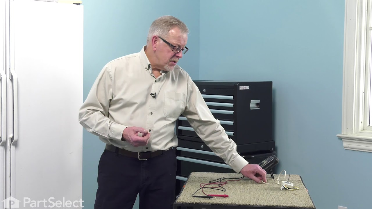 Replacing your General Electric Refrigerator Temperature Sensor