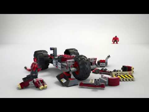 Vidéo LEGO Marvel Super Heroes 76078 : Hulk contre Hulk Rouge