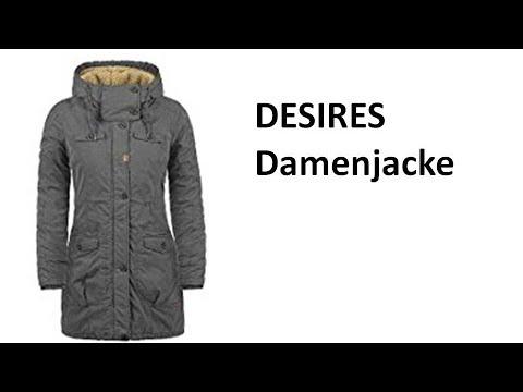 DESIRES Lewana Damenparka Winterjacke mit Kapuze - Review | deutsch / german