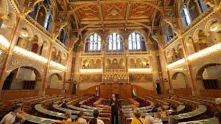 Hittanosok parlamenti látogatása – 2021