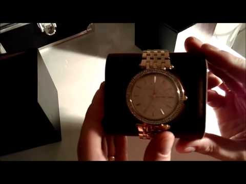 Michael Kors Uhr Gold (Color) MK3398 Damenuhr Watch Review