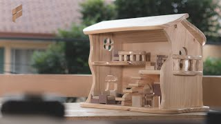 How To Make A Fairy Tale Wooden Dollhouse