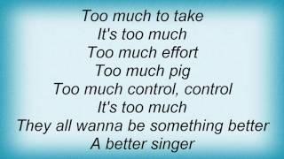 Bauhaus - Too Much 21st Century Lyrics