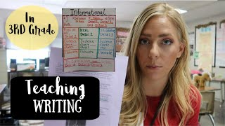 How To Teach Writing! In 3rd Grade!