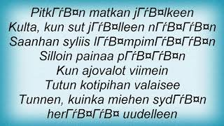Apulanta - Kiertolainen Lyrics