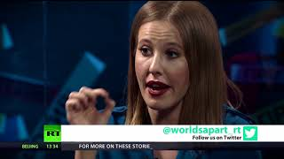 Candidate against all: Ksenia Sobchak (FULL INTERVIEW)