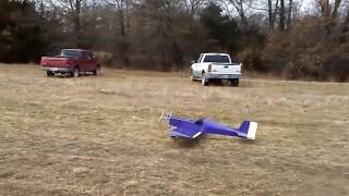 Vintage Ace R/C Big Bingo airplane 1st fight