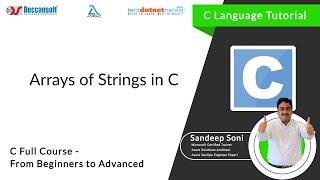 Array of String in C Programming language
